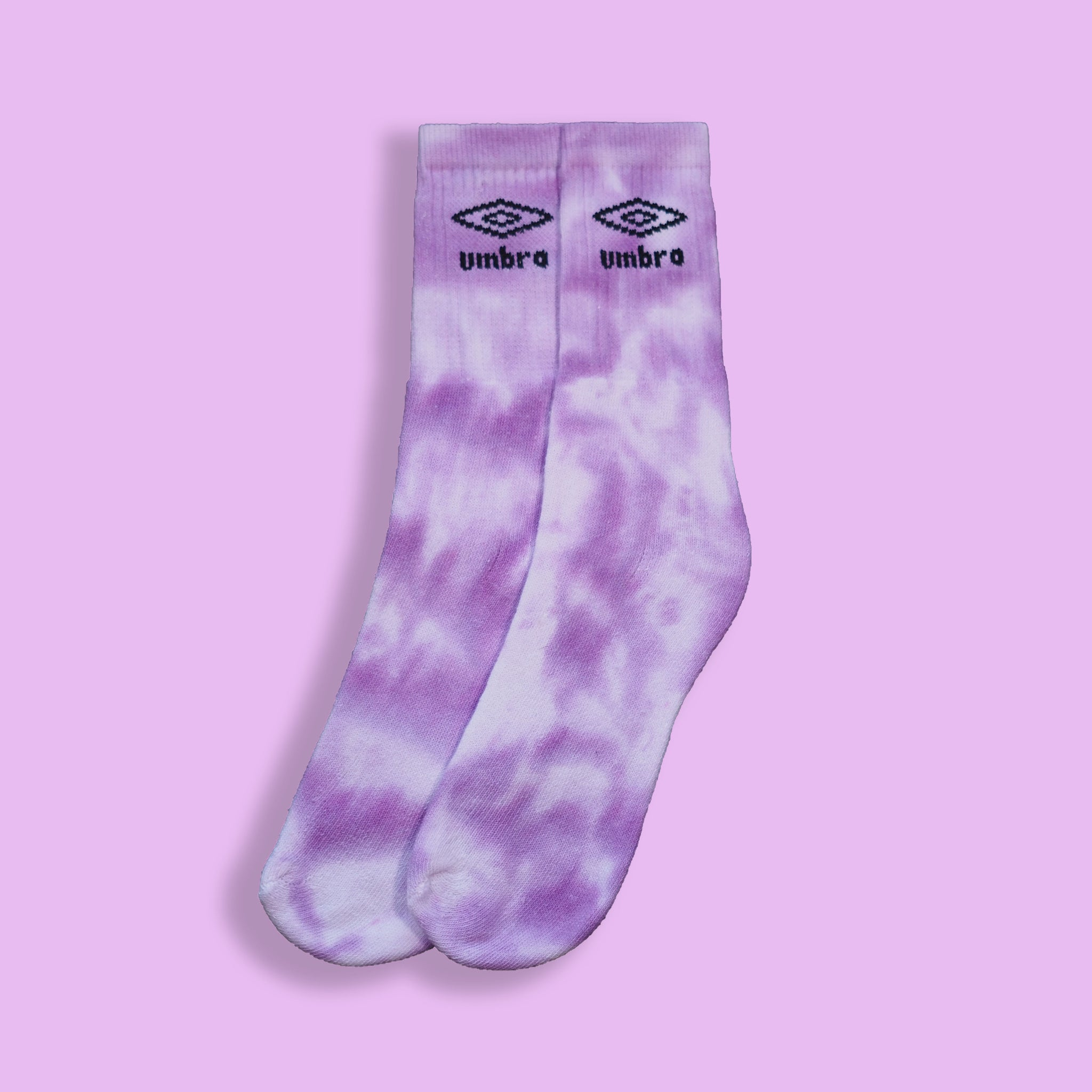 Umbro Socks Tie Dye Purple Medium