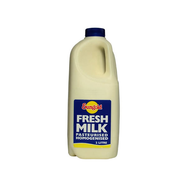 Sungold Milk - Full Cream (2L)