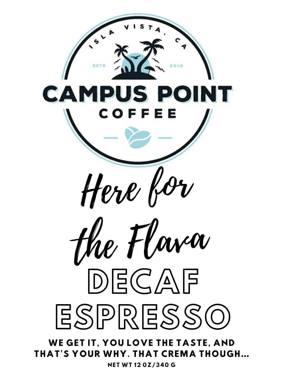coffee subscription, ground coffee, whole bean coffee, coffee, light roast coffee, medium roast coffee, dark roast coffee, espresso, decaf coffee, decaf espresso, Francisco Torres, Deltopia, Del Playa, The Loop, Snooze Button, Here for the Flava, campus point coffee, campus point coffee subscription, gift subscription, gift
