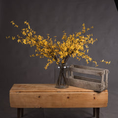 Faux Yellow Flowers