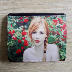 Trifold snap sublimation wallet