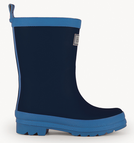Hatley True Navy Matte Rain Boot