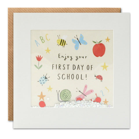James Ellis First Day of School Shakies Card