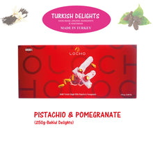 Load image into Gallery viewer, Pistachio & Pomegranate (250g Behlul, Non GMO, Organic) - Made in Turkey
