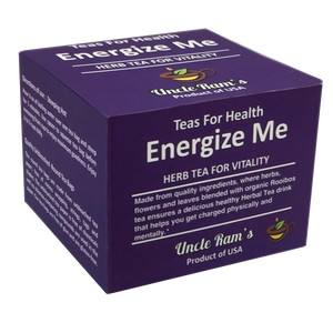 "Uncle Ram's ""Energise Me"" Health Tea (Made in USA)"