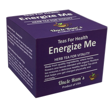 "Load image into Gallery viewer, Uncle Ram's ""Energise Me"" Health Tea (Made in USA)"