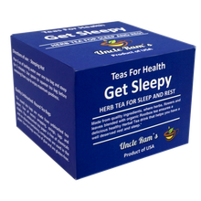 "Load image into Gallery viewer, Uncle Ram's ""Get Sleepy"" Health Tea (Made in USA)"