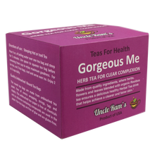 "Load image into Gallery viewer, Uncle Ram's ""Gorgeous Me"" Health Tea (Made in USA)"