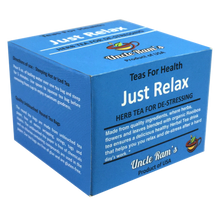"Load image into Gallery viewer, Uncle Ram's ""Just Relax"" Health Tea (Made in USA)"