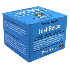 "Uncle Ram's ""Just Relax"" Health Tea (Made in USA)"