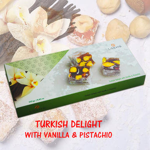 Coconut & Vanilla & Pistachio (250g, Non GMO, Organic) - Made in Turkey
