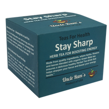 "Load image into Gallery viewer, Uncle Ram ""Stay Sharp"" Health Tea (Made in USA)"