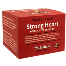 "Load image into Gallery viewer, Uncle Ram ""Strong Heart"" Health Tea (Made in USA)"