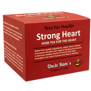 "Uncle Ram ""Strong Heart"" Health Tea (Made in USA)"