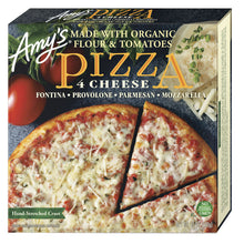 Load image into Gallery viewer, Amy's Kitchen 4 Cheese Pizza - Frozen