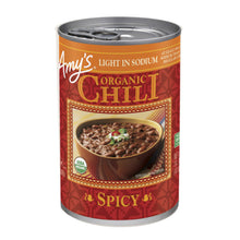 Load image into Gallery viewer, Amy's Kitchen Organic Spicy Chili Light in Sodium