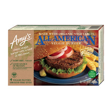 Load image into Gallery viewer, Amy's Kitchen  All American Vege Burger - Frozen