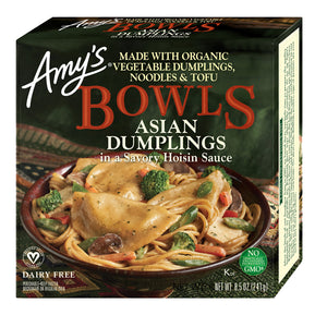 Amy's Kitchen Asian Dumplings Bowls - Frozen