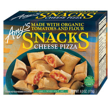 Load image into Gallery viewer, Amy's Kitchen Cheese Pizza Snacks - Frozen