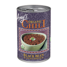 Load image into Gallery viewer, Amy's Kitchen Organic Medium Black Bean Chili
