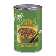 Load image into Gallery viewer, Amy's Kitchen Lentil Vegetable Organic Soup
