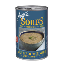 Load image into Gallery viewer, Amy's Kitchen Mushroom Bisque W/ Porcini Organic Soup