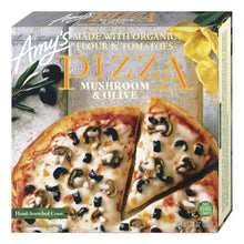 Load image into Gallery viewer, Amy's Mushroom And Olive Pizza - Frozen