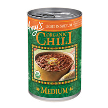 Load image into Gallery viewer, Amy's Kitchen Organic Medium Chili Light in Sodium