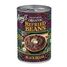 Load image into Gallery viewer, Amy's Kitchen Organic Vegetarian Refried Black Beans