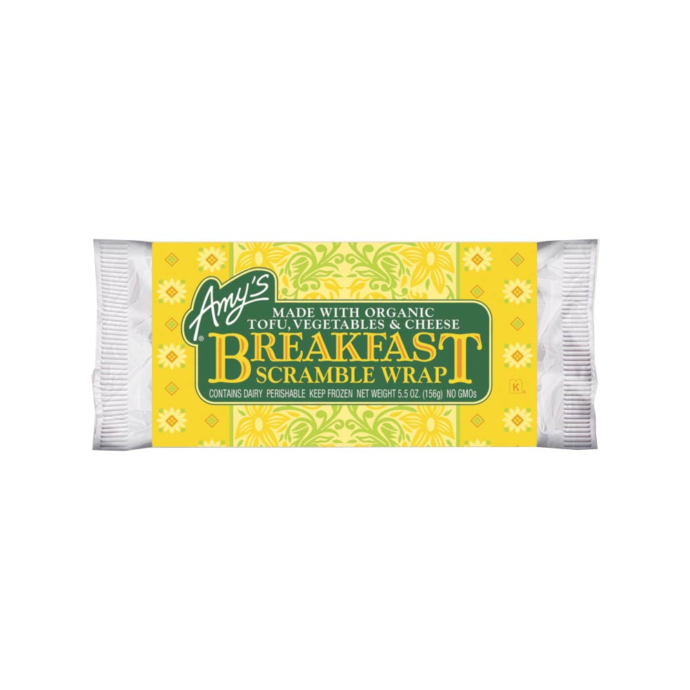 Amy's Kitchen Breakfast Scramble Wrap - Frozen