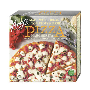 Amy's S/S Margherita Pizza - Frozen