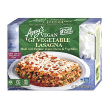 Load image into Gallery viewer, Amy's Vegan GF Vege Lasagna - Frozen