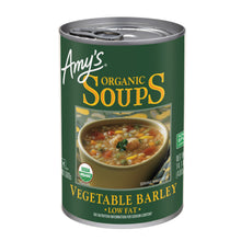 Load image into Gallery viewer, Amy's Kitchen Vegetable Barley  Organic Soup