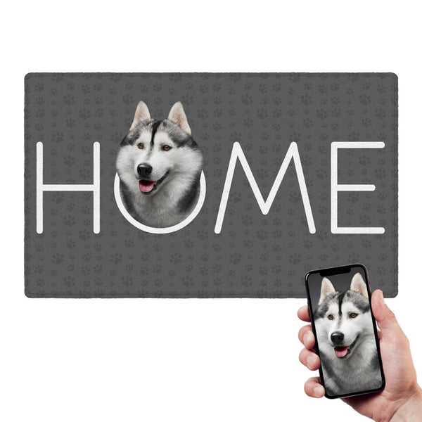 Custom Home Doormat Dog Doormat With Your Pet Photo