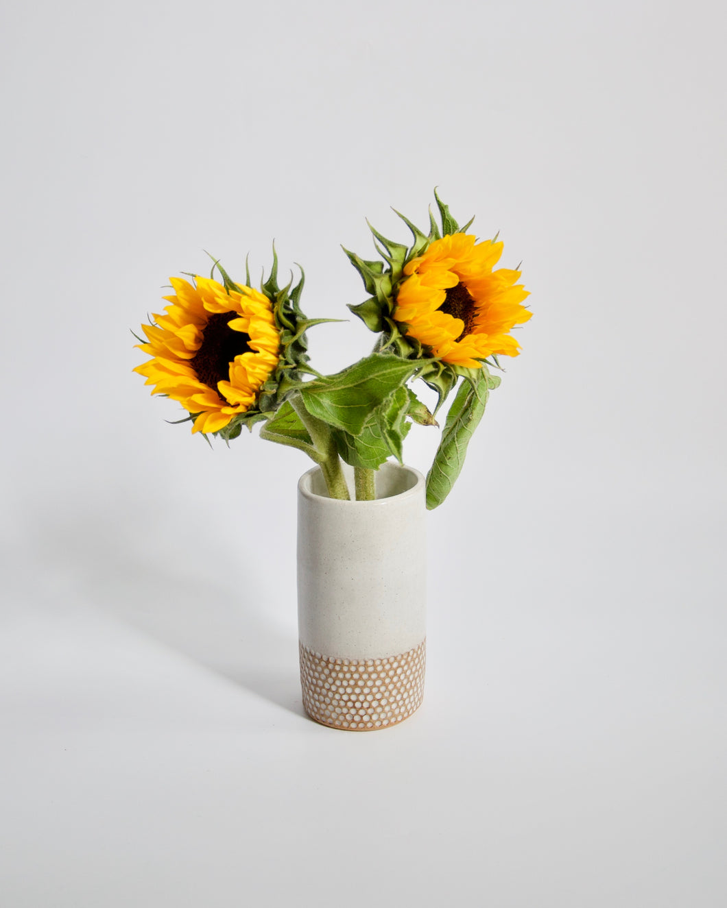 Elisa Ceramics Honeycomb Flower Vase