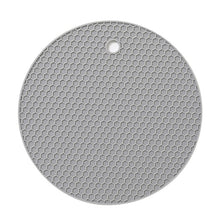 Load image into Gallery viewer, 1PCS Round Heat Resistant Silicone Mat Drink Cup Coasters Non-slip Pot Holder Table Placemat Kitchen Accessories
