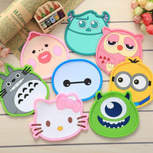 Load image into Gallery viewer, 1 Pcs Silicone Dining Table Placemat Coaster Kitchen Accessories Mat Cup Bar Mug Cartoon Animal Owl Totoro Minions Drink Pads