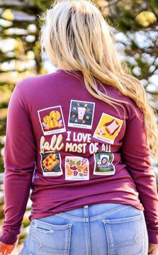 I love fall most of all long sleeve