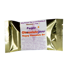 Load image into Gallery viewer, Purple Chocolate Jesus - Happy Chocolate Bar
