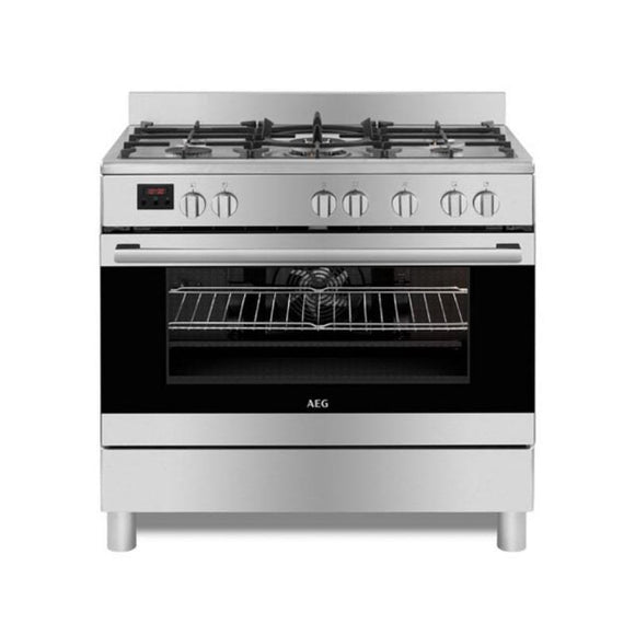 AEG 90cm Gas, Electric Free Standing Cooker