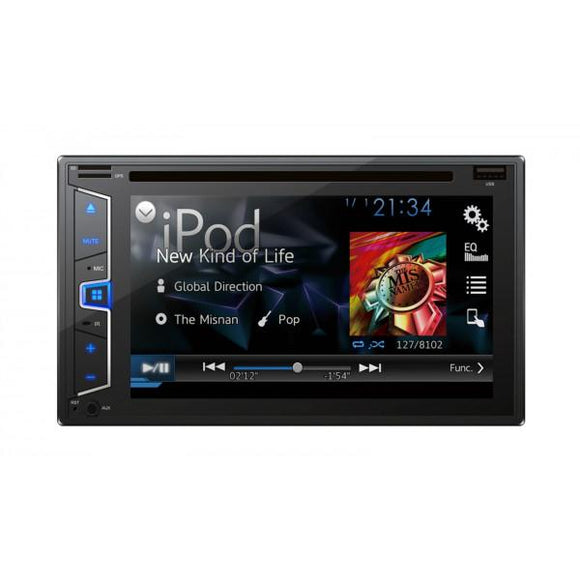 Aiwa 6.2 Inch Double Din with DVD ADD-620