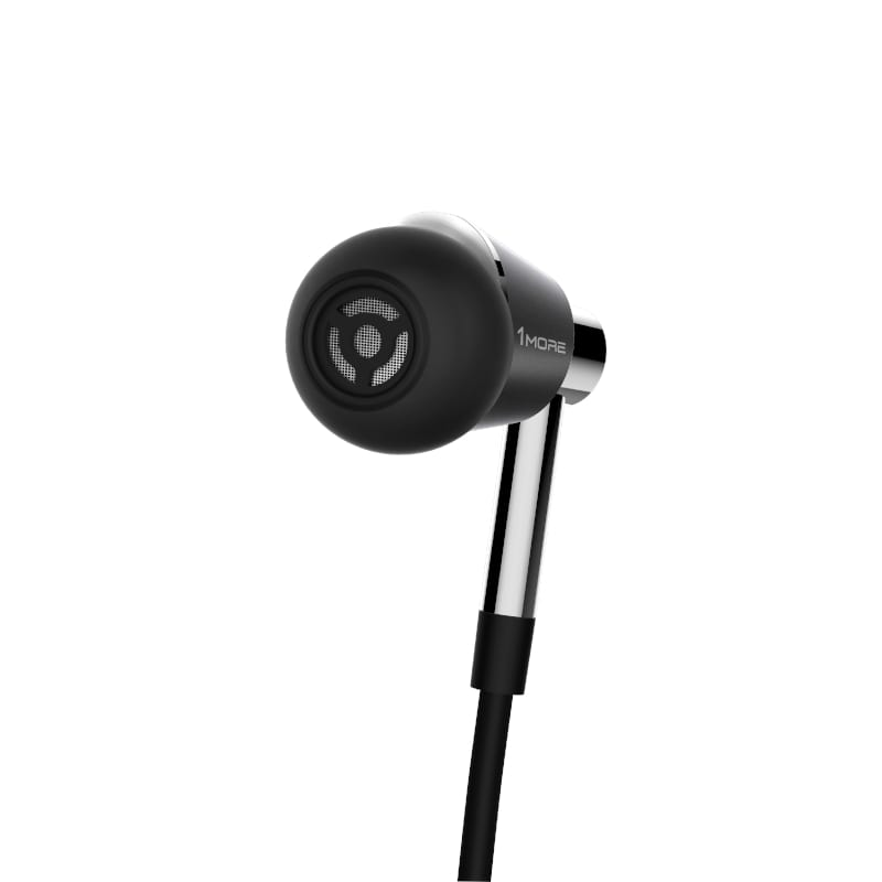 1MORE HiFi Triple Driver In-Ear Headphones - Silver