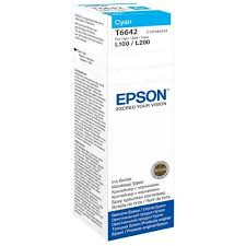 Epson T6642 Cyan Ink Bottle 70ml C13T66424A