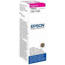 Epson T6643 Magenta Ink Bottle 70ml C13T66434A