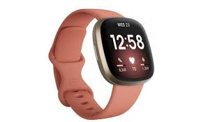 Copy of Fitbit Versa 3 - Pink Clay/Soft Gold