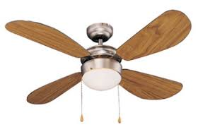 "Goldair 42"" 4 Blade 1 Light Ceiling Fan"