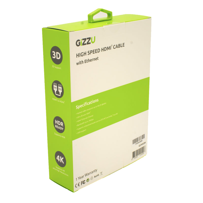 Gizzu High Speed V2.0 HDMI 3m Cable