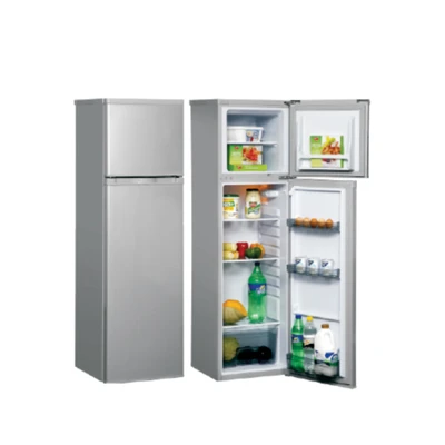 Goldair 225L Double Door - Silver