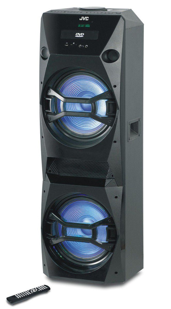 JVC 6000W Bluetooth Party Speaker With DVD - XS-N618PB