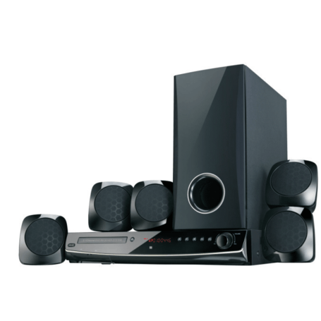 JVC Home Theatre System 5.1 Ch TH-N767B